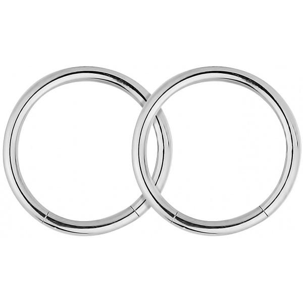 Segment Hoop Lip Rings, Forbidden Body Jewelry