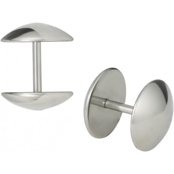 16g 10mm Surgical Steel Dome Cheater Plug Earrings, Fake 00 Gauge Earrings, Forbidden Body Jewelry